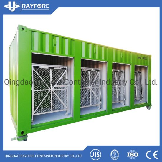 Qingdao Factory Customized Shipped to Europ and Japan Shutter roller Door Storage Bike Container