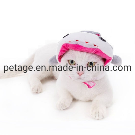 Hot Pet Accessories Cute Cats Head Cover Hats Holiday Supply