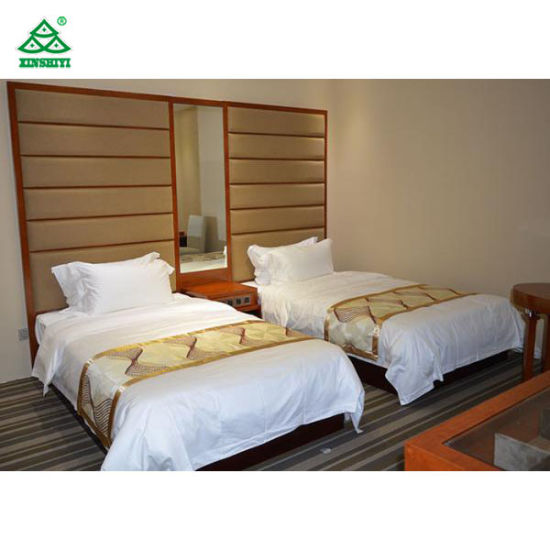 China Twin - Bed Cherry Urban Hotel Bedroom Furniture with ...