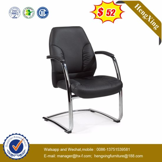 Chrome Metal PU Upholstery Leather Conference Boardroom Chair (HX-AC001C) pictures & photos