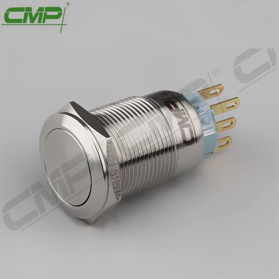 china cmp momentary 19mm 2no2nc double pole push button switchcmp momentary 19mm 2no2nc double pole push button switch