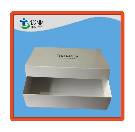 Tria Mera White Customized Box with Simple Words Trig Mera