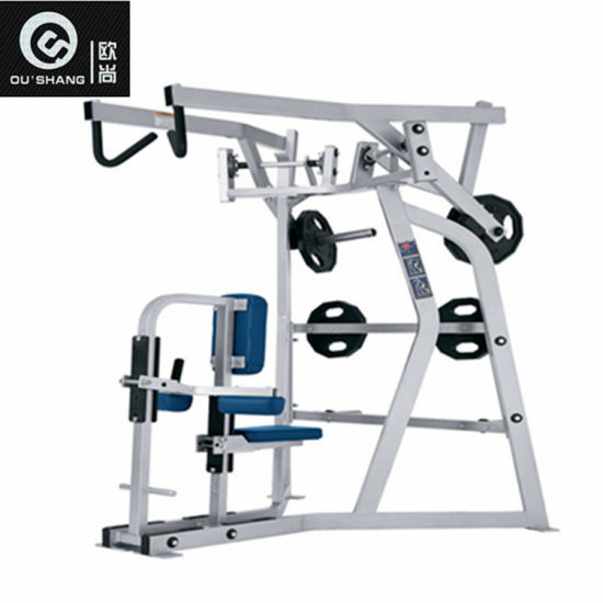 China Plate Loaded Hammer Strength Iso Lateral High Row Machine
