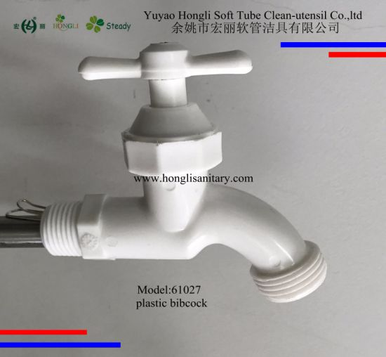 China 61027 PVC Bibcock, Plastic Faucet, PVC Tap - China Plastic ...
