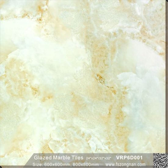 China Green Ceramic Full Polished Glazed Porcelain Floor Tile for ...