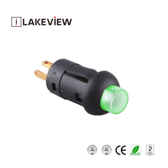 Long Electrical Life High Brightness LED Momentary Type Pushbutton Switch pictures & photos