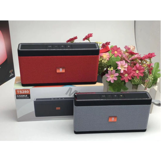 Made-in-China New Arrival Rectangle Wireless Super Bass Bluetooth Speaker Ts280