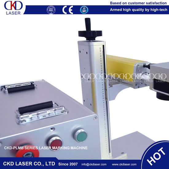 30W Fiber Laser Marking Machine for CNC Router pictures & photos