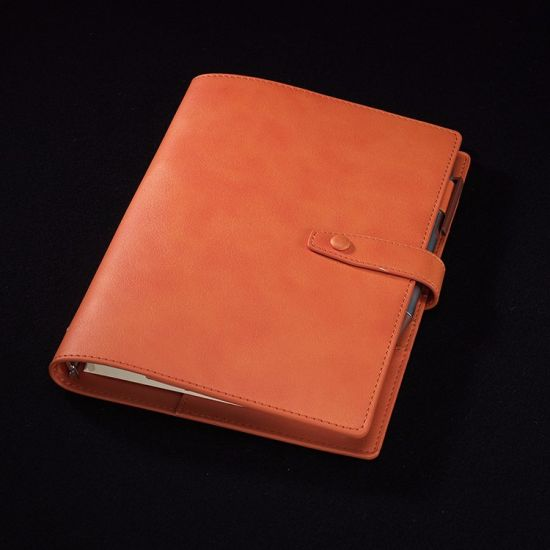 Classic PU Cover Notebook with Logo for Promotion (N-02)