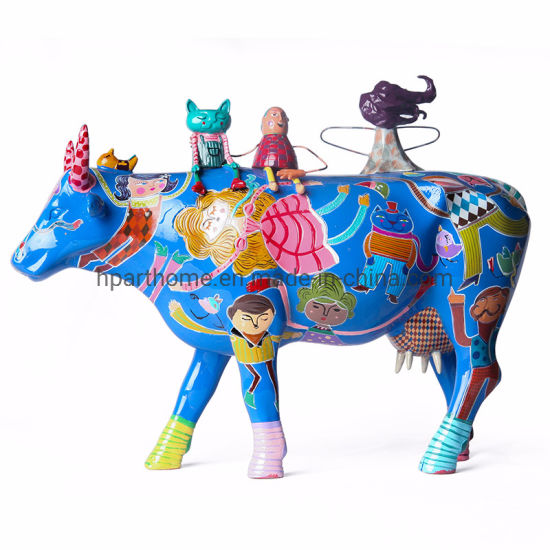 Modern Fashion Customized Exquisite Unique Resin Animal Statue for Collection