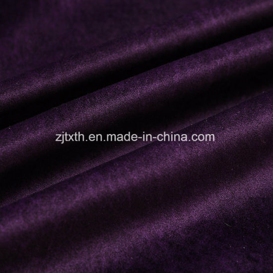 2018 100% Polyester Velvet Fabric pictures & photos
