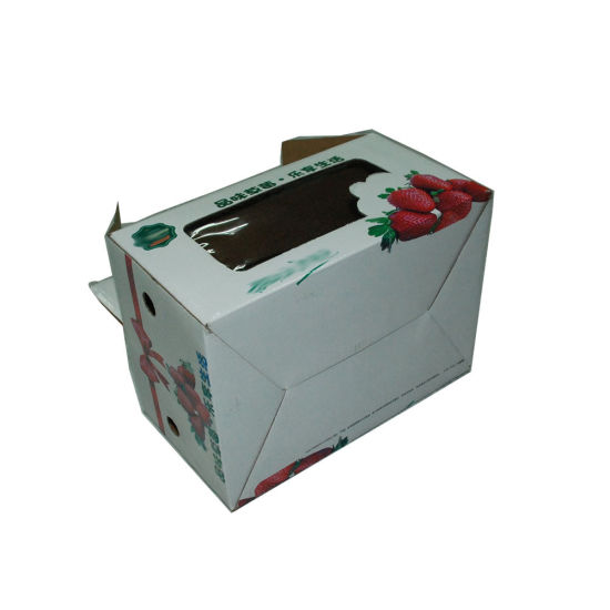 Recycle Kraft Paer Custom Cheap Price Paper Cherry Auto Boxes with Handle