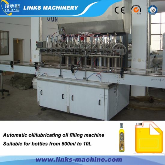 Automatic 3000bph Oil Filling Line for Olive Edible Production pictures & photos