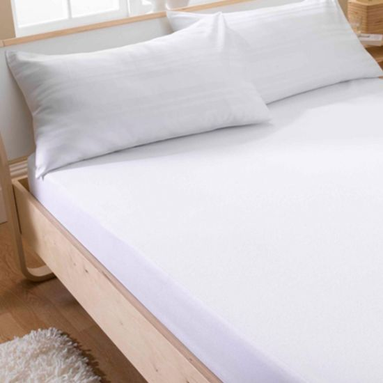 China King Size 100 Waterproof Cotton Terry Surface Mattress Cover