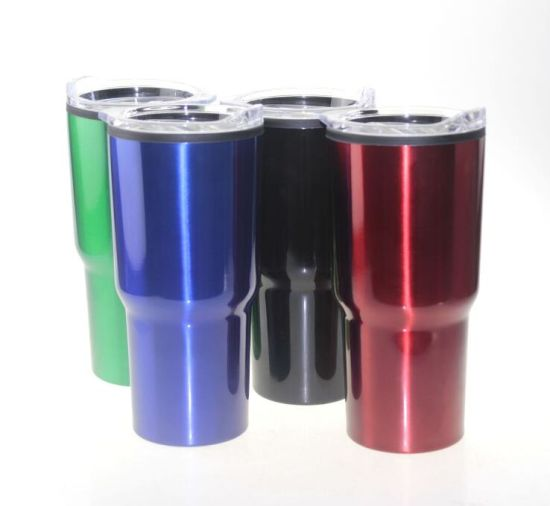 Wholesale Double Wall Car Mug 30oz Stainless Steel Glitter for Tumbler