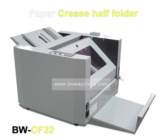 1200 Sheets/H A4 A3 Size Paper Crease Half Folder Manual Feeding Office Folding Machine pictures & photos