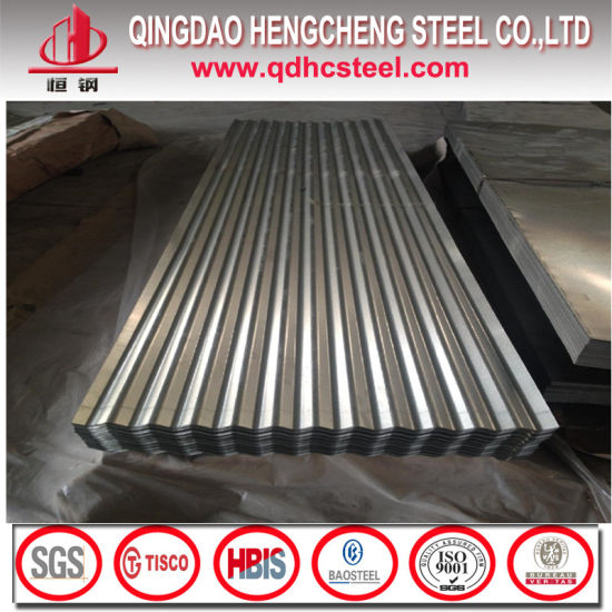 JIS G3321 Galvalume Corrugated Metal Roofing Sheet pictures & photos