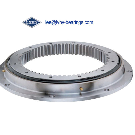 Slewing Ring Bearing with Flange for Mining Equipments (VLA200414-N)