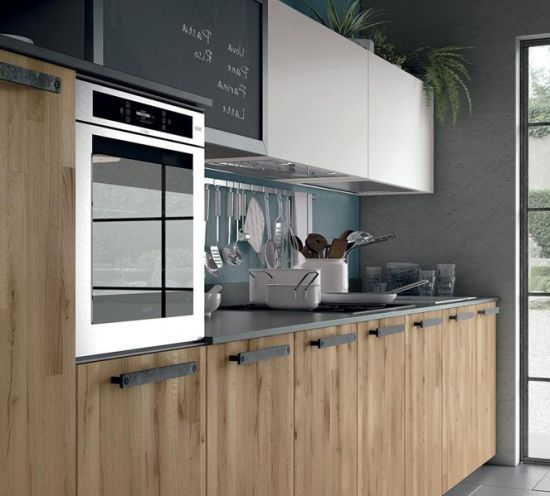 China Popular Color Wholesale Modern Wooden Kitchen Cabinet