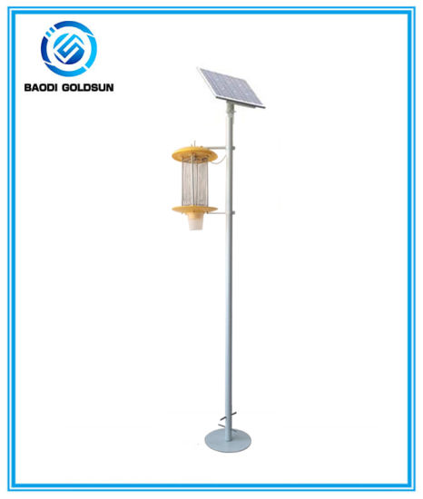 Solar Powered Insect Pest Mosquito Killer Lamp for Organic Farm pictures & photos