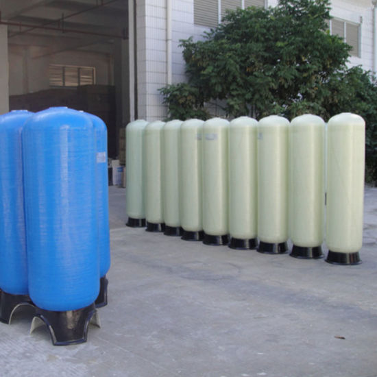 China Resin Softener FRP Water Filter Tank Price - China Water