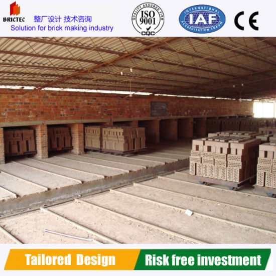 Tunnel Dryer in Hollow Brick Production Line