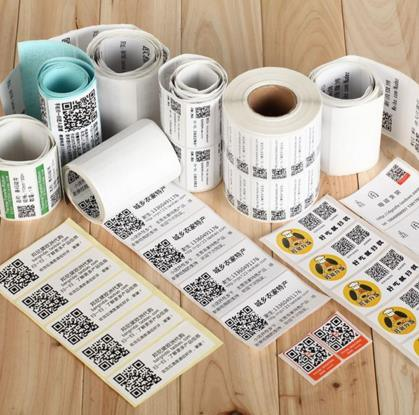 Customized PVC/Pet/Art Paper Food Container Stickers