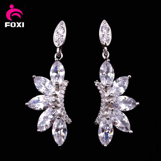 clear with compatible authentic allure silver item hanging earrings sterling cz women vintage stud