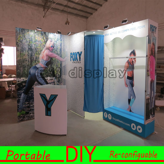 Portable Exhibition Display : China standard portable modular easy simple for assembly reusable