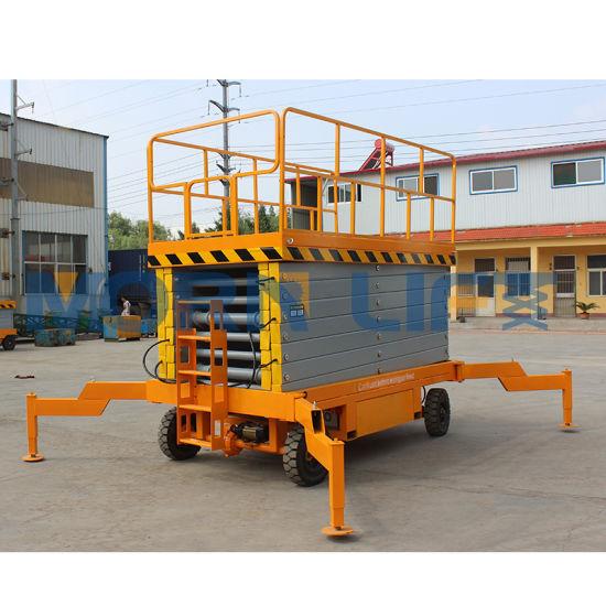 China Mobile Scissor Man Lift Platform One Man Lift - China