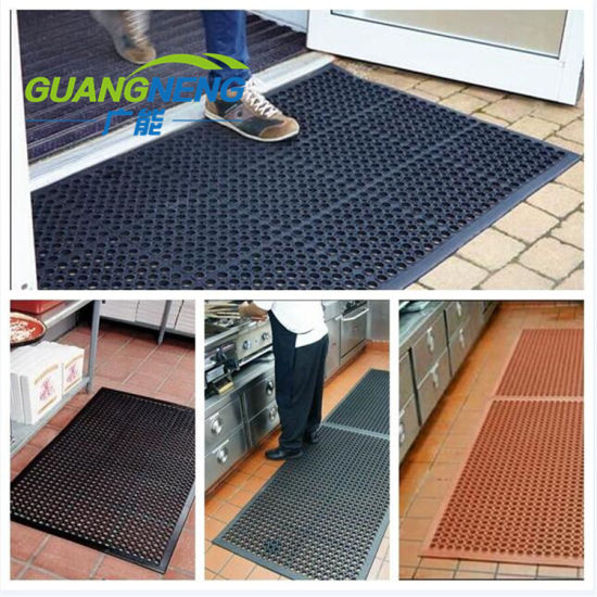 5'*3' Anti-Slip Kitchen Mats Oil Resistant Rubber Mats for Hotel