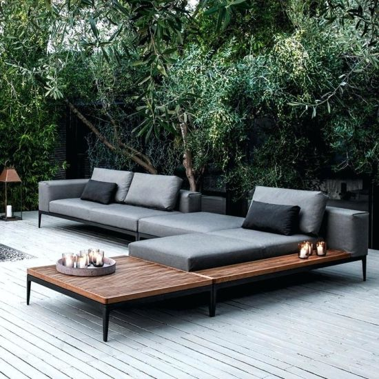 Garden Furniture Sofa Set, Outdoor Furniture Lounge Sofa