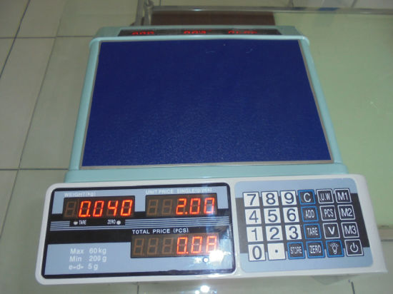 New Seafood Scale 60kg Weighing Scale (ACS-209) pictures & photos