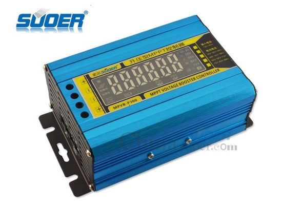 Souer 12V to 50V MPPT Boost Voltage Charge Controller Solar Charger (MPVB-P300) pictures & photos