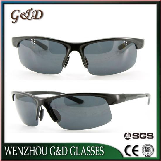 New Fashion Model Wholesale Aluminum Make Order Frame Sport Sunglasses