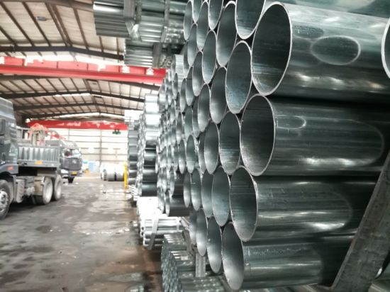 Gi Carbon Steel Pipe for Construction Chinese Manufacture pictures & photos