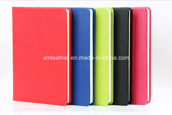 Differen Color A5 Hardcover Blank PU Leather Diary