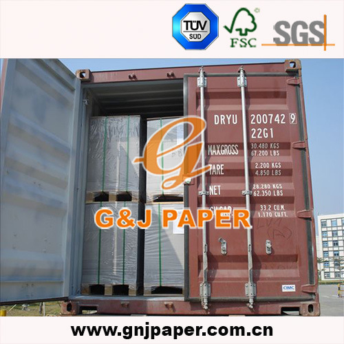 C1s Hard Coated Grey Back Duplex Board Paper for Wholesale pictures & photos
