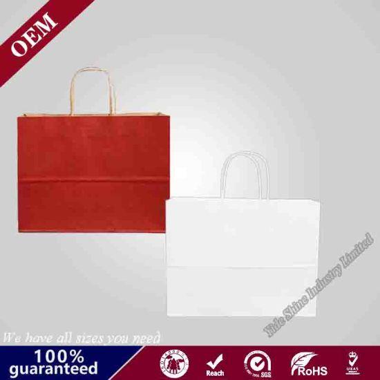 Brown Craft Paper Bag with Handle, Paper Bag Craft, Craft Paper Bag Food