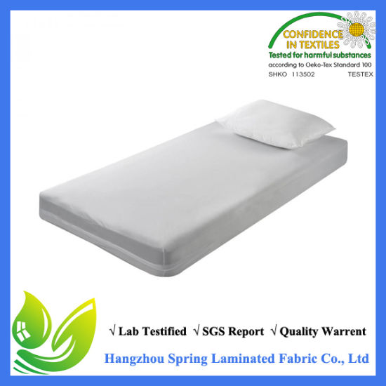 encasement mini bug bed cases box products health care linen bedbug waterproof mattress protector pillow