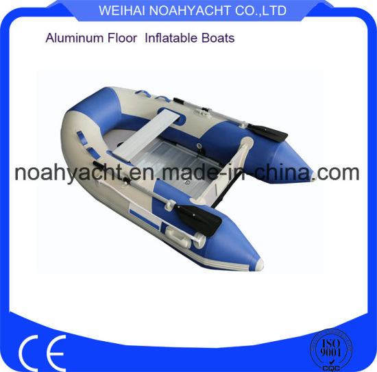 Light Weight Small Foladable Aluminum Inflatable Fishing Boats with Aluminum Floor (RXK240A) pictures & photos