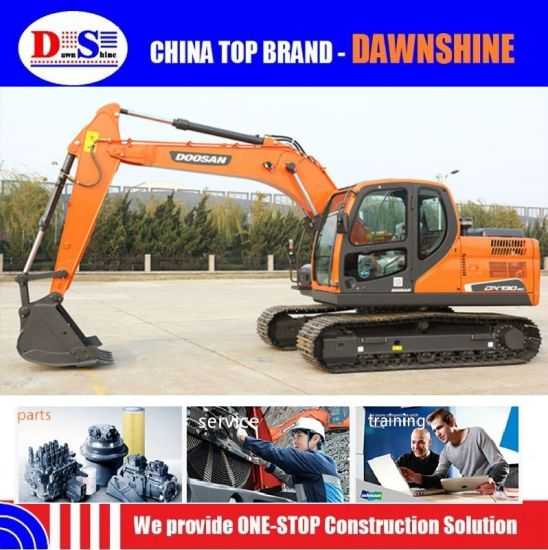 Doosan 12 13 Ton Dx130-9c Yanmar Engine Crawler Excavator