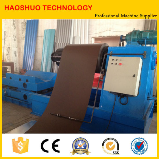 Hydraulic Steel Coil Decoiler pictures & photos