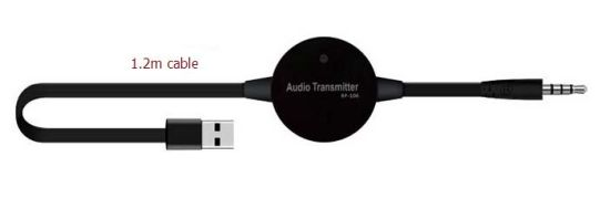 USB TV Bluetooth 2.1 Audio Transmitter Adapter with 1.2m Cable pictures & photos