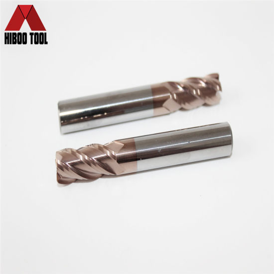 HRC55 Tungsten Carbide Toroidal Milling Cutter pictures & photos