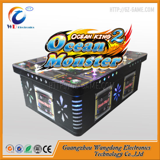 Wangdong 8 Player Arcade Cabinet Fishing Scoring Machine For Sale