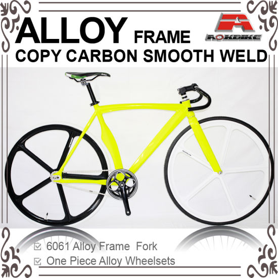 China Alloy Smooth Weld Same Carbon Fixed Gear Bike (KB-700C13 ...