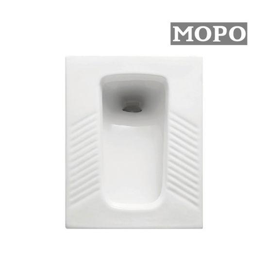 Sanitaryware Ceramic Squat Pan with White Color