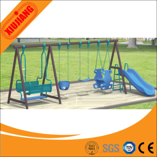 China Factory Direct Kindergarden Outdoor Swing Sets For Adults