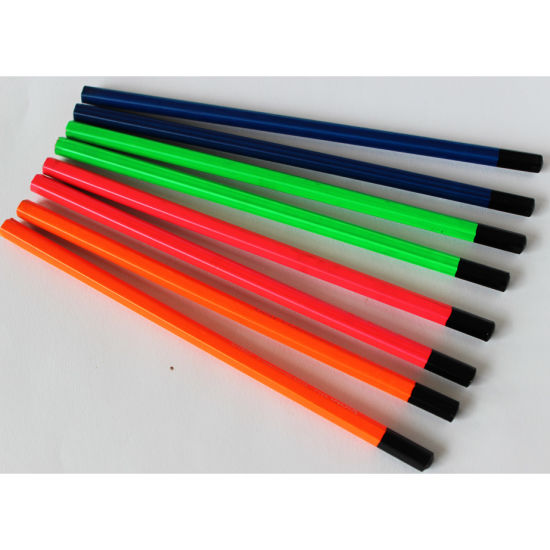 High Quality Neon Pencils Hb with DIP End pictures & photos